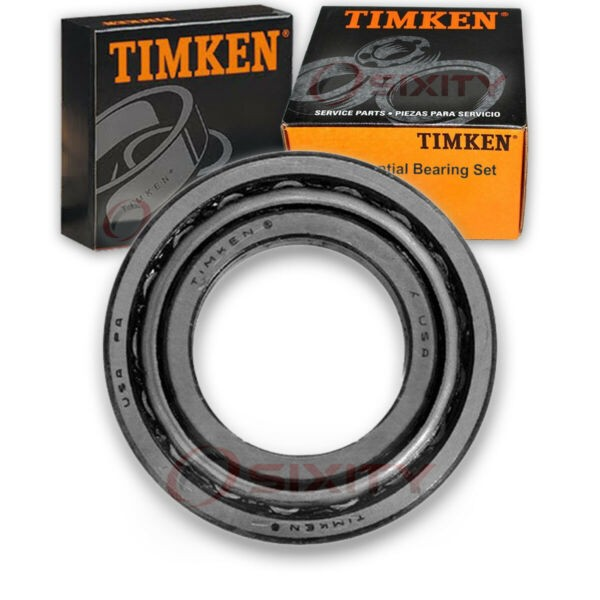 Timken Front Inner Differential Bearing Set for 1970-1973 Mercury Montego  no