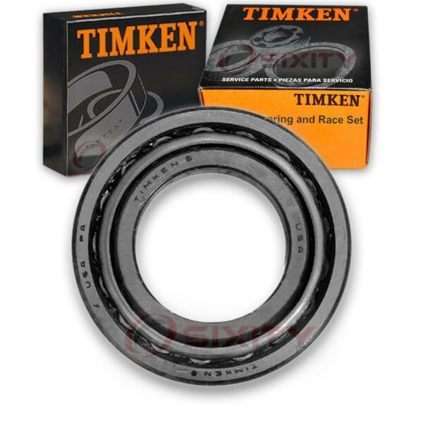 Timken Rear Wheel Bearing & Race Set for 1985-1991 Pontiac Firebird Left zz
