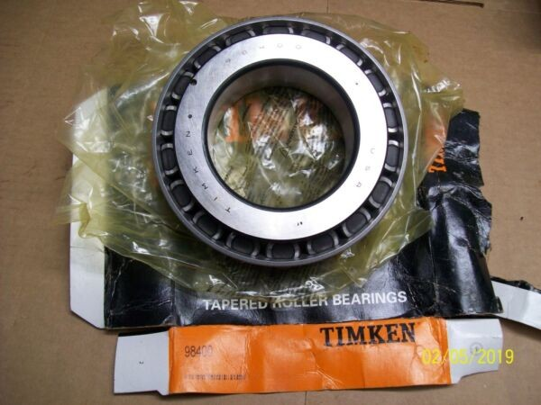 NEW TIMKEN TAPERED ROLLER BEARING , 98400
