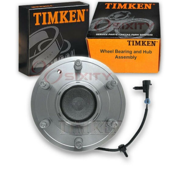 Timken Front Wheel Bearing & Hub Assembly for 2002-2006 Chevrolet Avalanche he