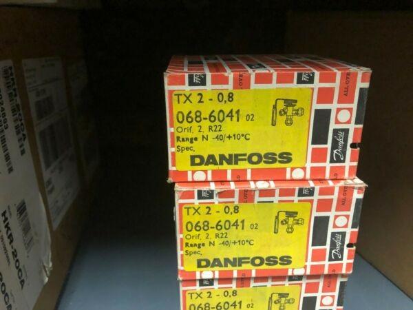 DANFOSS 068-6041 THERMAL EXPANSION VALVE