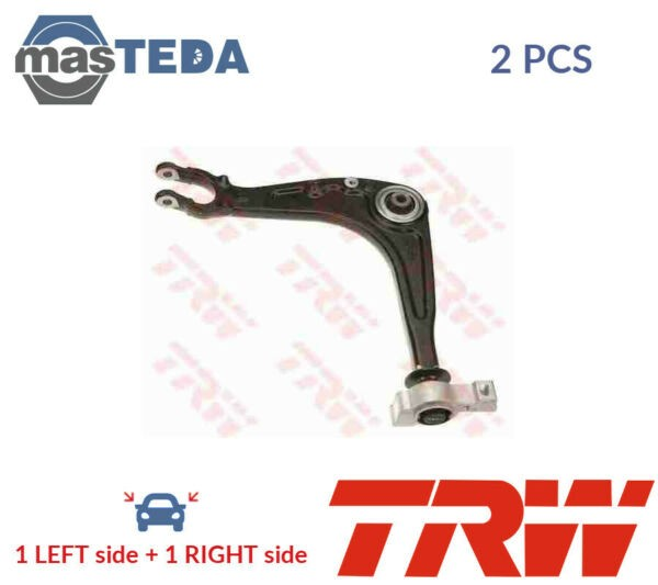 2x TRW LOWER LH RH TRACK CONTROL ARM PAIR JTC1236 G NEW OE REPLACEMENT