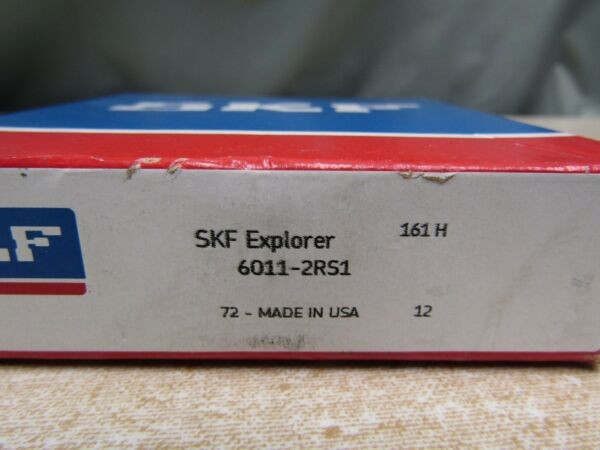 SKF 6011- 2RS 55x90x18 (mm) Rubber Sealed Bearing