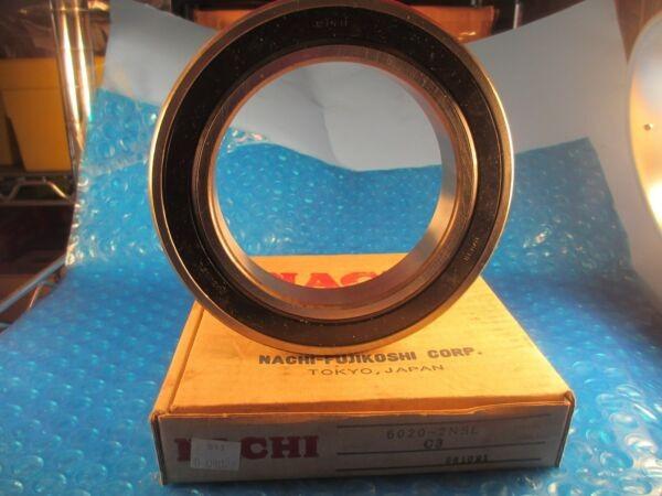 Nachi 6020 2NSL, Deep Groove Roller Bearing(=2 SKF Fag, 6020 2RS, MRC 120KSZZ)