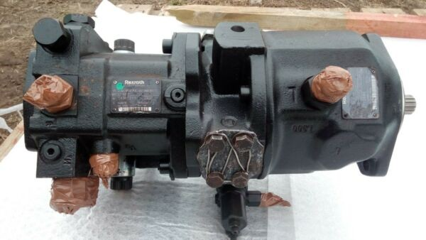 Rexroth double hydraulic pump