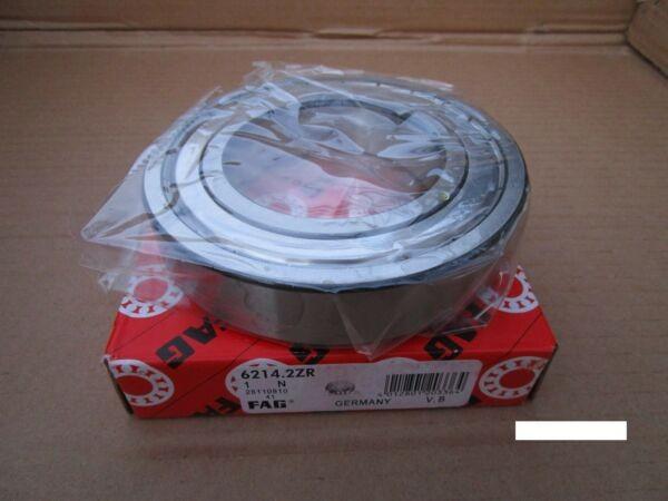 Fag 6214-2ZR Single Row Ball Bearing(SKF 2Z, NSK ZZ,NTN,Timken/Fafnir 214KDD)