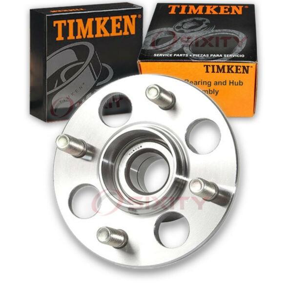 Timken Rear Wheel Bearing & Hub Assembly for 1986-1987 Honda Wagovan Left ie