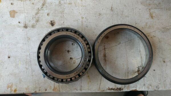 Timken bearing race 25580 and 25521