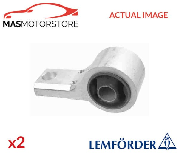 2x 35323 01 LEMFÖRDER LOWER CONTROL ARM WISHBONE BUSH PAIR P NEW OE REPLACEMENT
