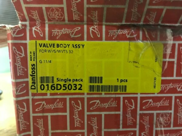 Danfoss 016D5032 WVS/WVTS 32 Water reg. valve G 1 1/4 M/4