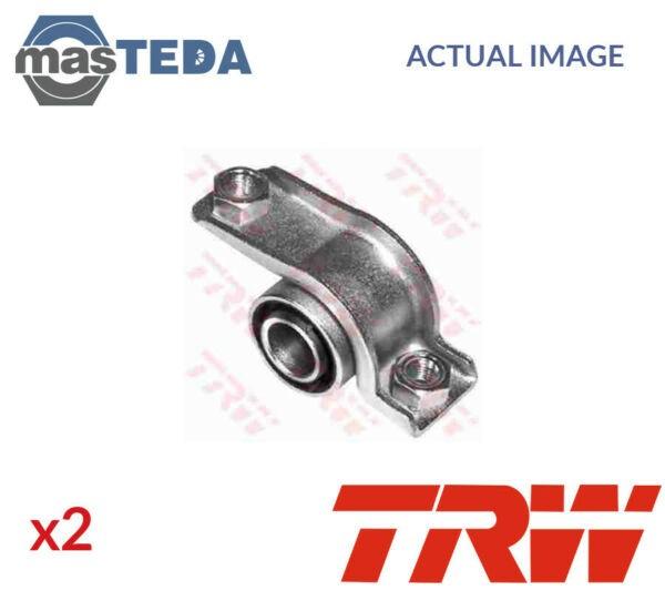 2x TRW CONTROL ARM WISHBONE BUSH JBU123 G NEW OE REPLACEMENT