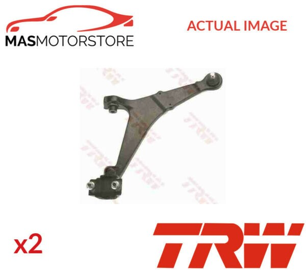 2x JTC272 TRW LOWER LH RH TRACK CONTROL ARM PAIR I NEW OE REPLACEMENT