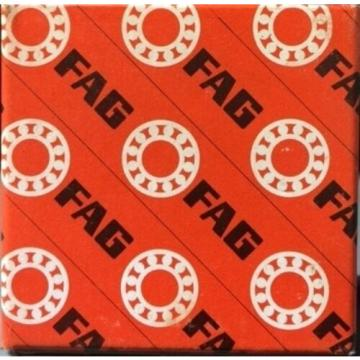 FAG 6309 RADIAL BEARING, SINGLE ROW, ABEC 1 PRECISION, OPEN, STEEL CAGE, NORM...