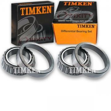 Timken Rear Differential Bearing Set for 1976 Oldsmobile Cutlass Tiara  uc