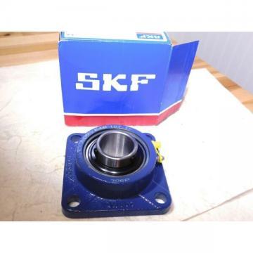 """SKF Ball Bearing Flange Unit 4 Bolts 1-7/16"""" Bore 5730Lb Dynamic Load Capacity"""