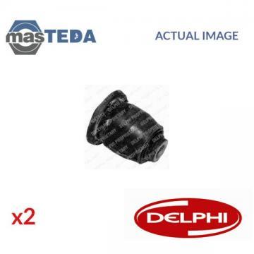 2x DELPHI FRONT CONTROL ARM WISHBONE BUSH TD427W G NEW OE REPLACEMENT