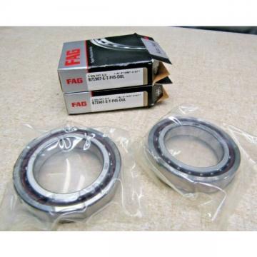 FAG    B71907-E-TP4S DUL Super Precision 2 Bearing Set