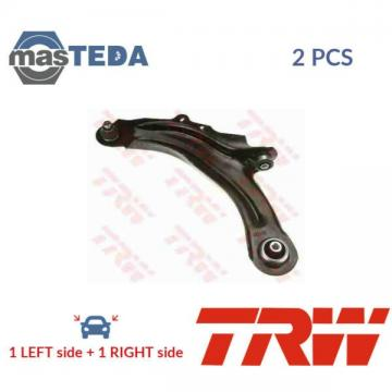 2x TRW FRONT LH RH TRACK CONTROL ARM PAIR JTC1223 P NEW OE REPLACEMENT