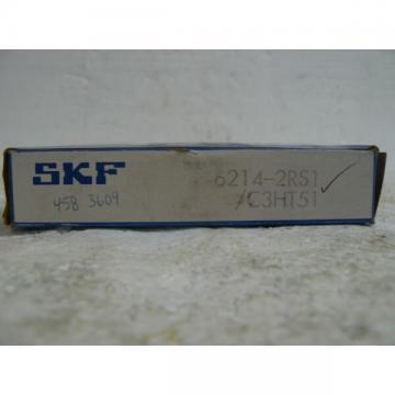 SKF 6214-2RS1/C3HT51 BEARING NEW