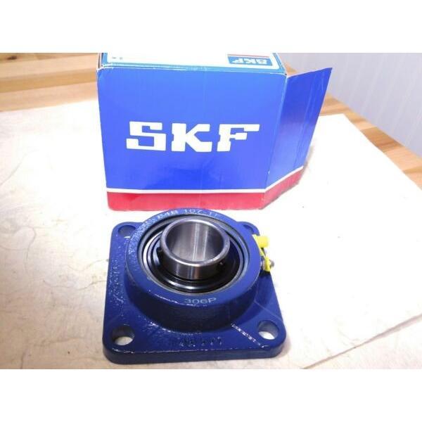 """SKF Ball Bearing Flange Unit 4 Bolts 1-7/16"""" Bore 5730Lb Dynamic Load Capacity #1 image"""